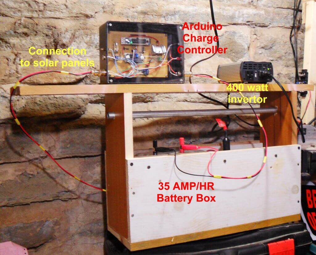 Solar Panel Battery Charge Controller Using Arduino Simplelm317solarchargerv10schematic Regulator With Power Box